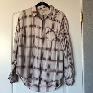 A New Day Lightweight Flannel Tunic